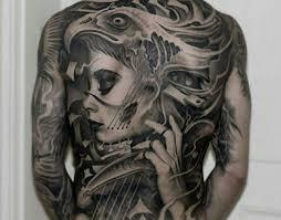 tattoo back face full back terrific and nice latino girl face tattoo golfian com