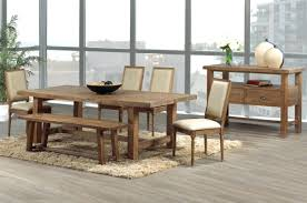Dining Room Sets Bench Wood Benches For Dining Tables Solid Wood Farmhouse Kitchen Table