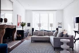 Living Room L Shaped Sofa Grey L Shaped Sofa White Living Room Ideas Houseandgardencouk L