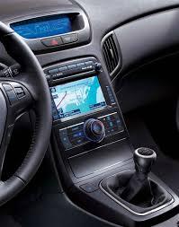 hyundai genesis coupe navigation system 2011 hyundai genesis coupe interior onsurga
