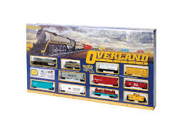 bachmann trains overland limited ready to run ho