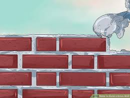 How To Build A Dividing Wall In A Room - how to build a brick wall with pictures wikihow