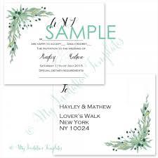 Sample Rsvp Cards Rsvp Samples Archives My Invitation Templates For Diy Printable
