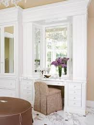 Lighted Vanity Table With Mirror And Bench Makeup Table With Mirror And Chair Foter