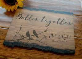 wedding plaques personalized schweitzer customs personalized wedding gift