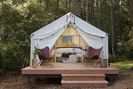 Permanent Tent Cabins 10 Gorgeous Northern California Glamping Sites