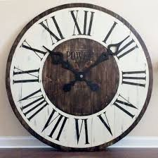 large wall clocks oversized wall clocks wall by funcoolwallclocks