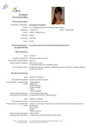 Sample Personal Information In Resume by Sample Resume With Foreign Language Skills