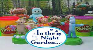 night garden play doh fun upsy daisy makka pakka