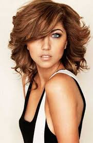 hair cuts for slightly wavy hair 20 haircuts with bangs for round faces hairstyles haircuts