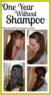 clarifying shoo for coloured hair one year without shoo the no poo method the crunchy moose