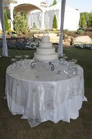 silver lace table overlay emily taki s beautiful wedding indian wedding blog