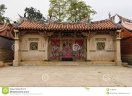 traditional chinese style house in taiwan stock photo image