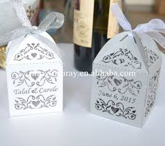 wedding party favors india diwali sweet box laser cut wedding box favors party favours