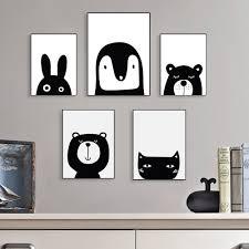 aliexpress com buy kawaii animal bear cat rabbit poster nordic