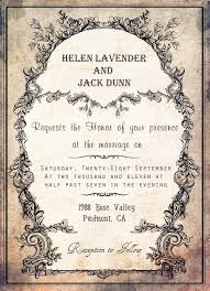 20 creative and unique vintage wedding invitations vintage