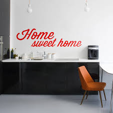 home sweet home vinyl wall sticker by oakdene designs