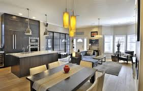 how to decorate a hom how to decorate an open floor plan elegant kitchen and living room