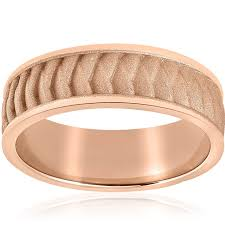 braided wedding band mens solid 14k gold braided wedding band 8mm comfort fit