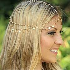headbands for women aukmla alloy headbands for women chain with