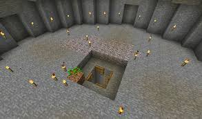 the lair survival base uses no torches survival mode