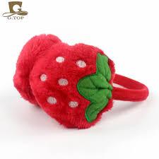fruit headband kids winter ear warmers lovely strawberry fruit headband