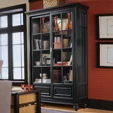 Glass Bookcases With Doors Furniture Glass Door Bookcase Decorating Ideas Kropyok Home