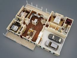 Split Level Bedroom by What Makes A Split Bedroom Floor Plan Ideal The House Designers