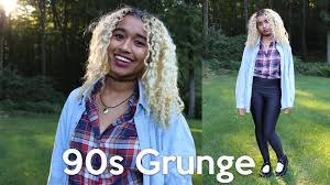90s grunge makeup hair and tutorial offbeatlook youtube
