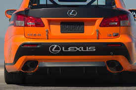 lexus is exhaust lexus brings is f ccs r to the u s to compete in the pikes peak