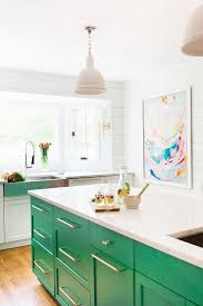 colorful kitchen islands best 25 color kitchen cabinets ideas on colored