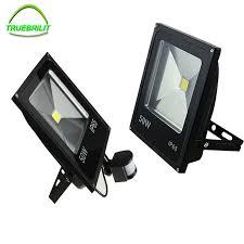 10w 20w 30w 50w led motion sensor flood lights pir floodlights