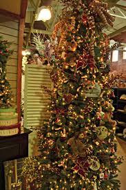 old fashion christmas tree christmas lights decoration