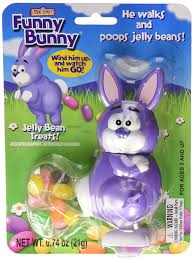 easter bunny candy bunny wind up jelly bean pooping easter bunny