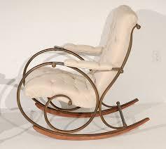 Padded Rocking Chairs For Nursery Fabric Rocking Chair For Nursery Editeestrela Design