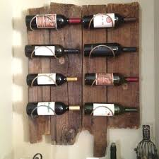 wine rack we decided to make our own wine rack from local old
