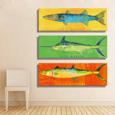 Home Decoration Painting by Online Get Cheap Fish Art Aliexpress Com Alibaba Group