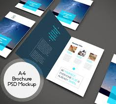 presentation flyer psd template 13 presentation folder psd