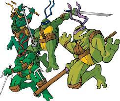teenage mutant ninja turtles names colors