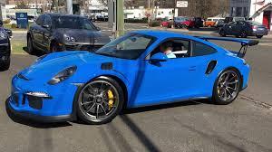 porsche truck 2011 pts voodoo blue porsche 911 gt3rs startup small acceleration
