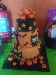 kitty halloween tier cake ideas