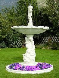 fontane per giardini 824a s fontana da giardino kenya a cascate in cemento da esterno