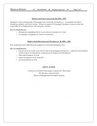 Maintenance Skills For Resume Supervisor Resume