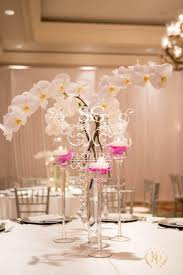 Wedding Centerpieces With Crystals by 58 Best Pink Purple And Crystal Wedding Images On Pinterest