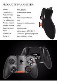 new design usb bluetooth wireless game controller rk game 4th new design usb bluetooth wireless game controller rk game 4th smart gamepad android game controller