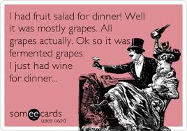 Fruit Salad For Dinner Meme - i had fruit salad for dinner well it was mostly grapes all grapes