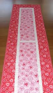 valentines day table runner quilted table runner valentines day decor my
