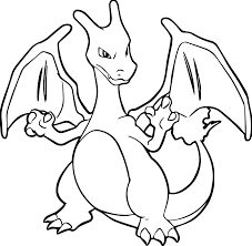 pokemon coloring pages charizard kid 3102