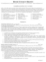 Extensive Resume Sample by Resume Sample 7 Attorney Resume Labor Relations Executive