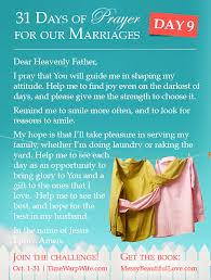 marriage prayers for couples prayer for a attitude marriage challenge 31 days of prayer